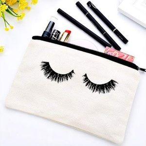 Handbags - Adorable eyelash makeup bag pencil case Lashes